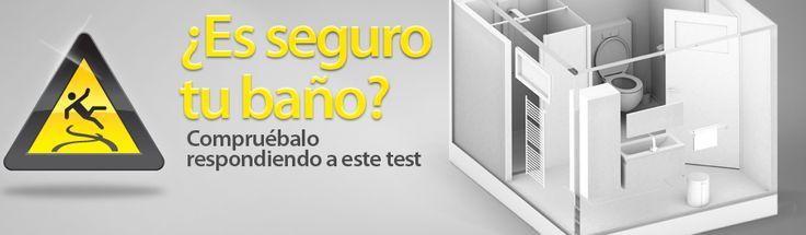 ¿Es seguro tu baño? Test de seguridad en el baño