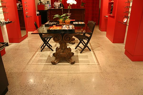151 best decorative concrete system images on pinterest for Dining room floor ideas