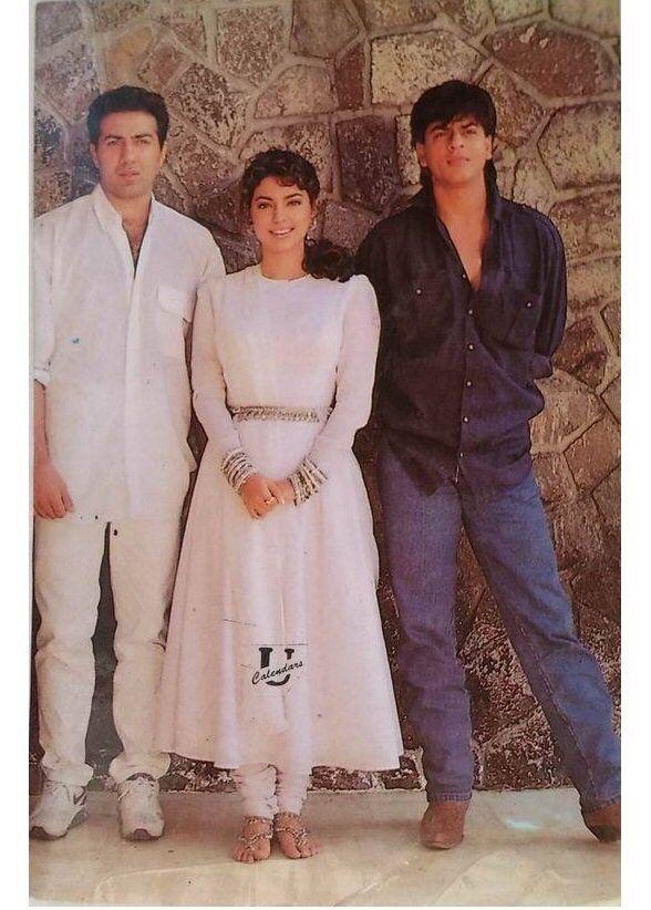 Image result for shahrukh salman khan 90s