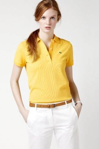 L.12.12 Original Fit Short Sleeve Non-stretch Pique Polo
