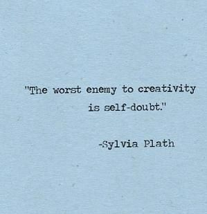 A favorite Sylvia Plath quote by chris del