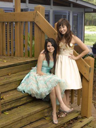 Selena Gomez and Demi Lovato in Princess Protection Program