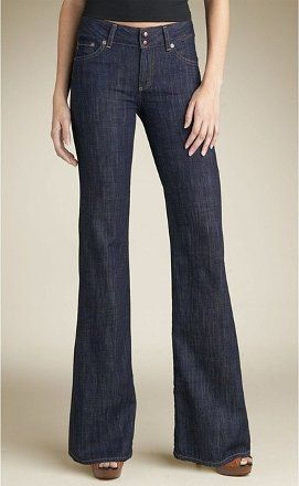 AG Adriano Goldschmied The Mona Trouser/Wide Leg Jeans Blue 28