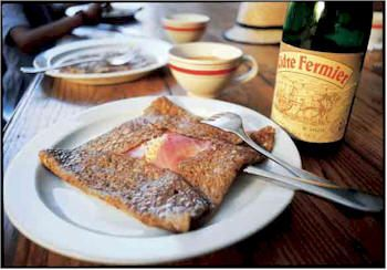 Go for a crêpe! Breton crêpes - sweet/savoury - decisions, decisions!