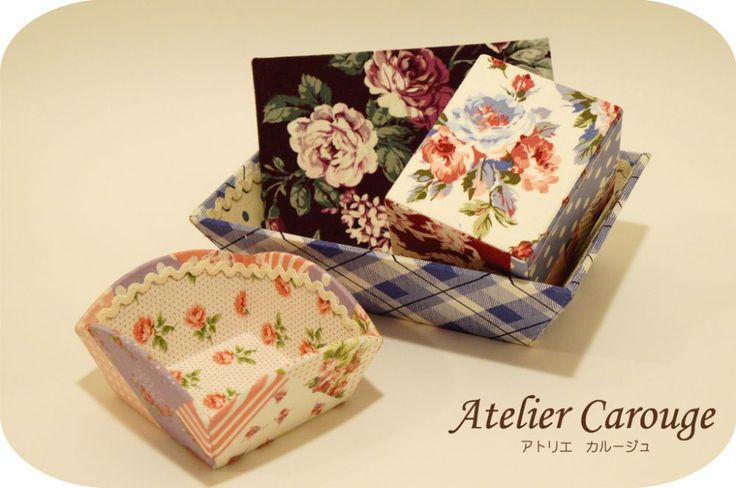 If you like this photo, please rePin It or <3 it!  Atelier Carouge is an art studio located in Yokohama, Japan. We teach how to make cute boxes called cartonnage! For more information, please check out our webage at www.atelier-carouge.com or contact us at TEL: 080-4126-3212 / FAX: 045-753-9753 / Email: carouge@cartonnage.biz .