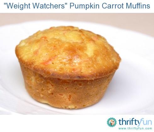 Weight Watchers Pumpkin Carrot Cake Muffins