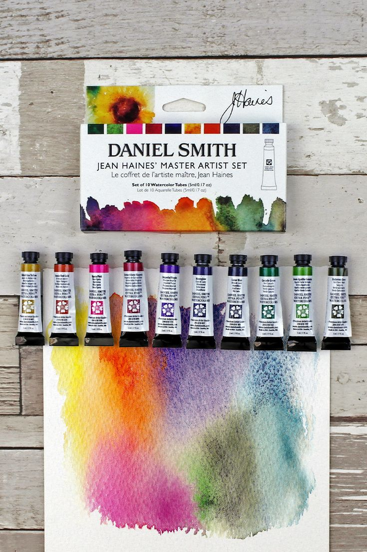 Daniel Smith Watercolour Jean Haines Master Artist Paint Set In