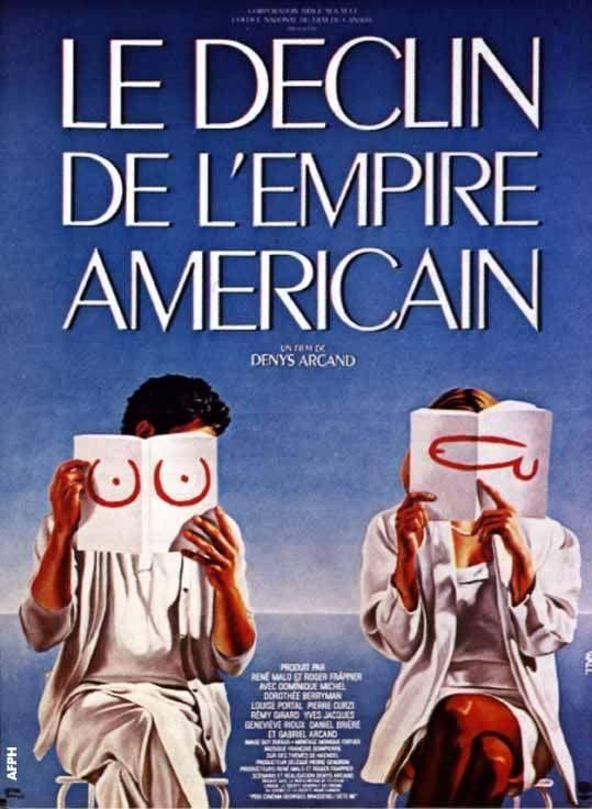 Premier immense succès québécois à l'international, Le déclin de l'empire américain de Denys Arcand fait partie de la liste des films québécois incontournables.