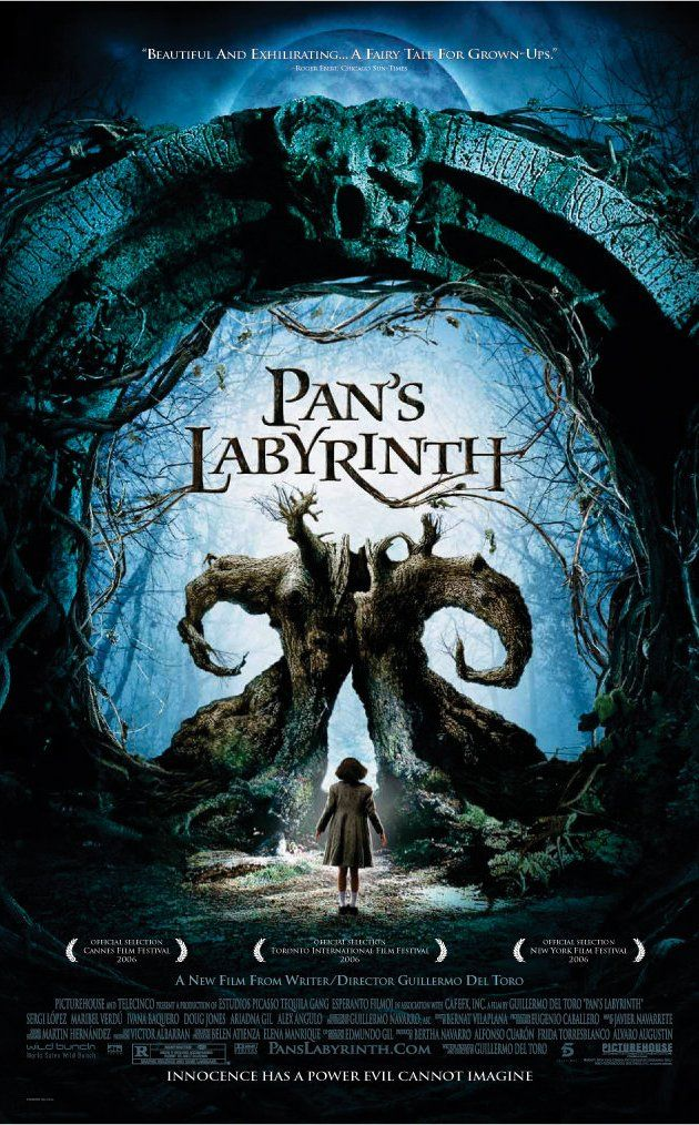 Directed by Guillermo del Toro.  With Ivana Baquero, Ariadna Gil, Sergi López, Maribel Verdú. In the falangist Spain of 1944, the bookish young stepdaughter of a sadistic army officer escapes into an eerie but captivating fantasy world.