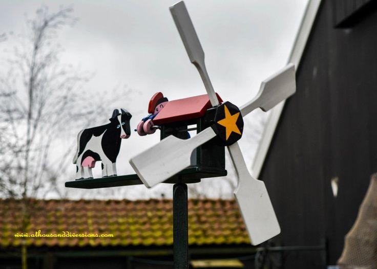 A toy mill at #Zaanseschans #Netherlands
