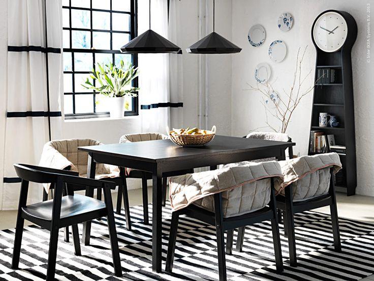 Die besten 25+ Ikea white dining table Ideen auf Pinterest - esszimmer landhausstil ikea