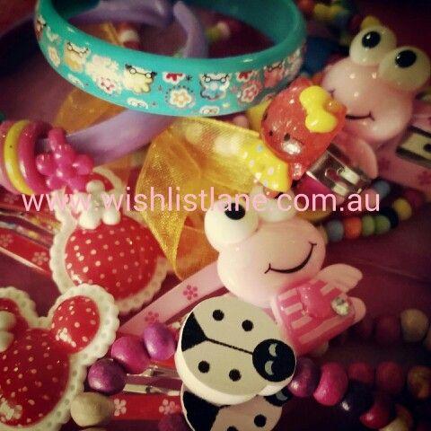 Kids jewellery on sale this week!  From $2 with free Australian delivery!  Www.wishlistlane.com.au Www.facebook.com/wishlistlane