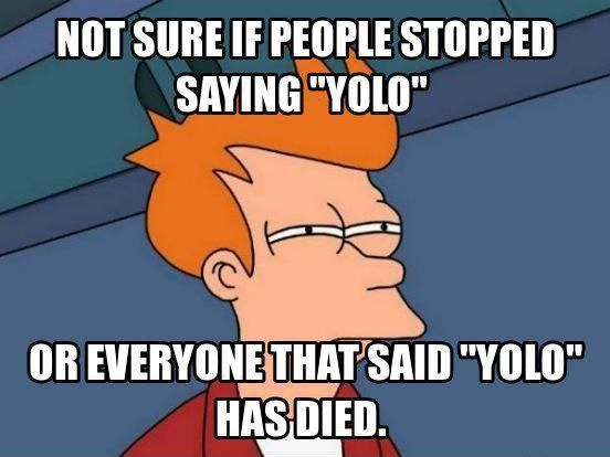 Something to think about #yolo