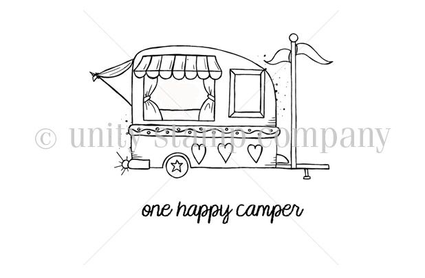 happy camper coloring pages - photo#26