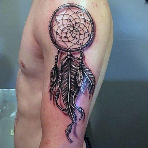 29 Dreamcatcher Tattoos For Men Tatuajes Chiquitos Tatuajes Tatuajes Atrapasuenos