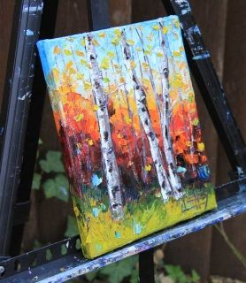 Palette Knife Painting                                                                                                                                                      More
