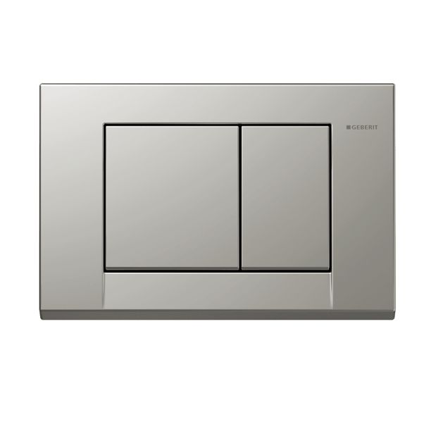 Geberit Sigma Bolero Dual Flush Plate (Satin Chrome) - 115.777.46.1