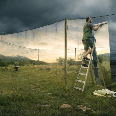 Erik Johansson - cover up