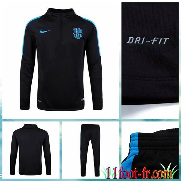 surv tement de foot barca 2016 2017 ligue des champions noir homme survetement fc barcelone. Black Bedroom Furniture Sets. Home Design Ideas