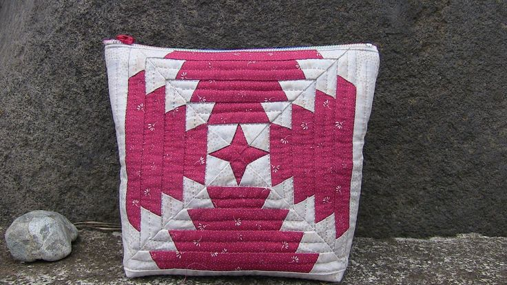 """Patchwork Quilt Vol.8""""Easy Ultimate Pineapple pattern.Purse """"「スピーディにパイナッ..."""