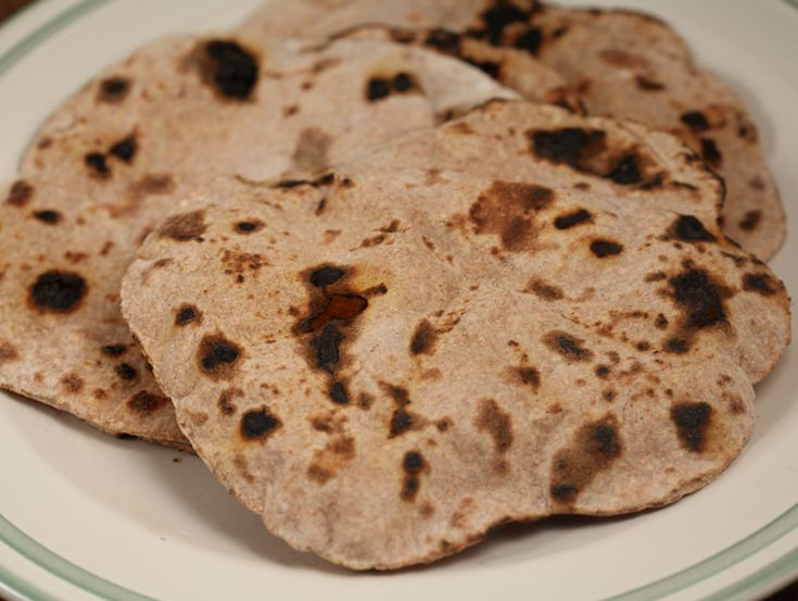 Chapati, paine indiana integrala - Chapati, paine indiana integrala