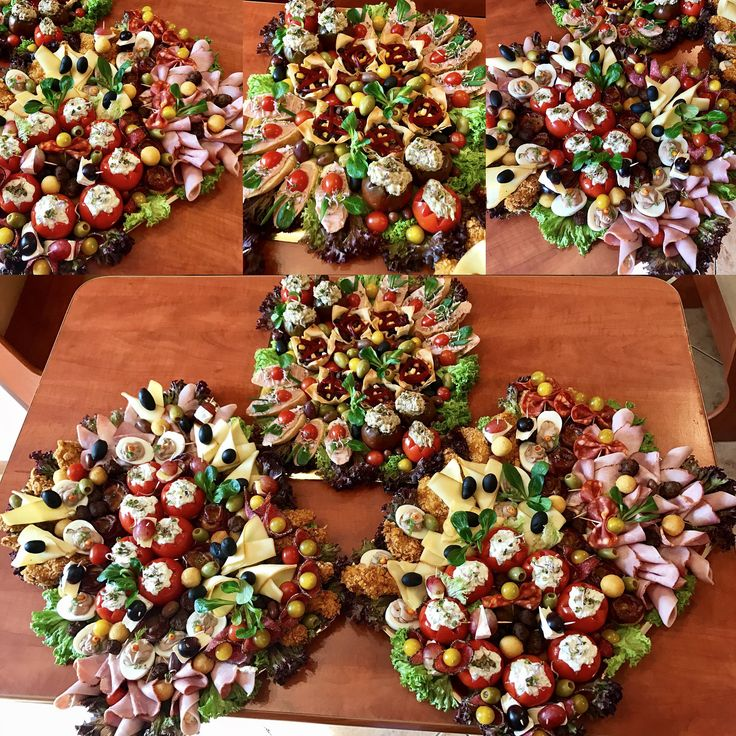 Plates Food Aperitive Tasty