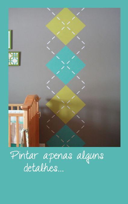 As 25 melhores ideias de pintura parede no pinterest for Pintura decorativa efeito 3d
