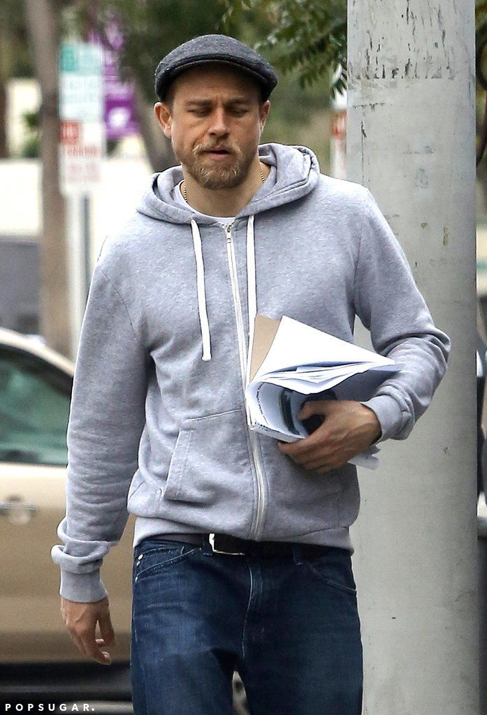 Charlie Hunnam and Morgana McNelis Shopping in LA Pictures   POPSUGAR Celebrity