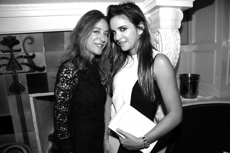 The Moncler dinner at The Beatrice Inn with Aurélie Bidermann