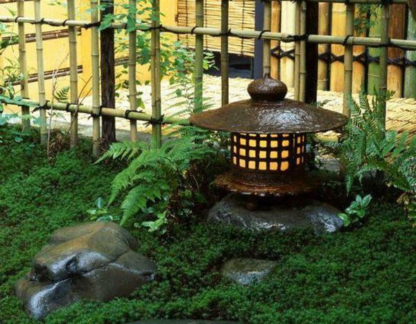 #Lanterne inspiration jardin japonais.