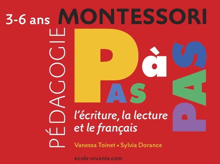 Pédagogie Montessori - la lecture