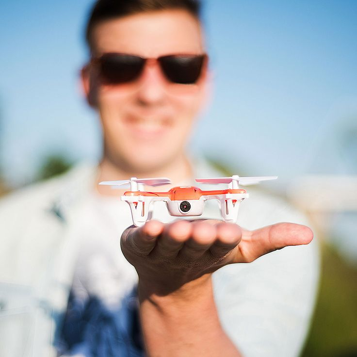 There's really nothing like the SKEYE Mini Drone with HD Camera. Start a new hobby, but avoid spending to much money. This palm-sized drone will fly high.