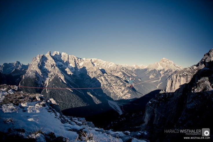 picture by Harald Wisthaler www.wisthaler.com #Higline #Monte Piana