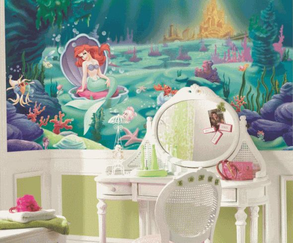 1000+ Images About Little Mermaid Toddler Bedding On