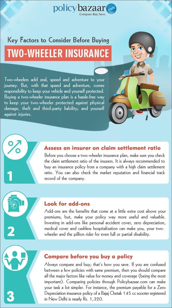 Two Wheeler Insurance Policy Number Seven Simple (But