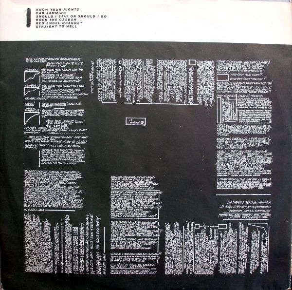 Clash, The - Combat Rock (Vinyl, LP, Album) at Discogs