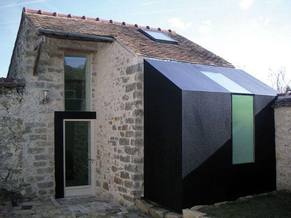 106 best images about extension on pinterest - Transformer une maison ancienne ...