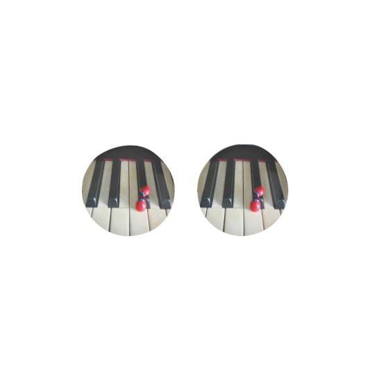 Piano - Nostalgia Stud Earrings