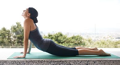 The mid back can be a difficult area to access, but these stretches will help ease pain, relieve tension, and improve mobility.