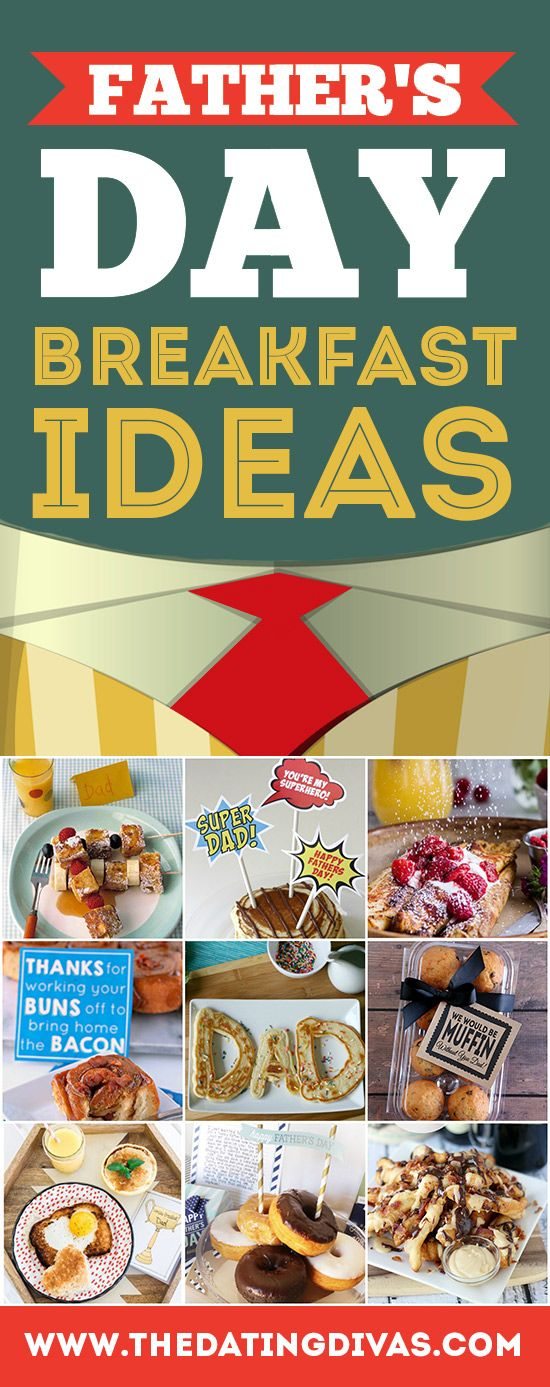 Unique and delicious Father's Day breakfast ideas to serve dad in bed! My hubby will love #8. www.TheDatingDivas.com