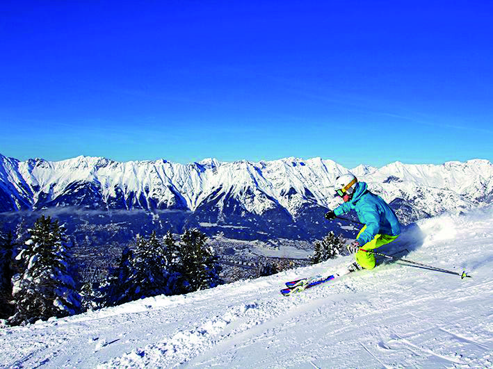 Ski Innsbruck. The ideal location for those wanting mix amazing skiing with a little culture! Contact us today for rates
