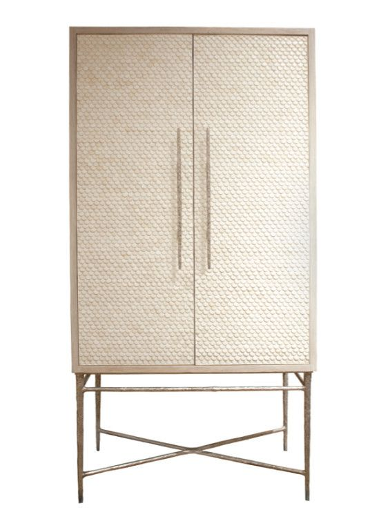 Heron Lorica Armoire, wouldn't this (or something like this) make a lovely bar cabinet?