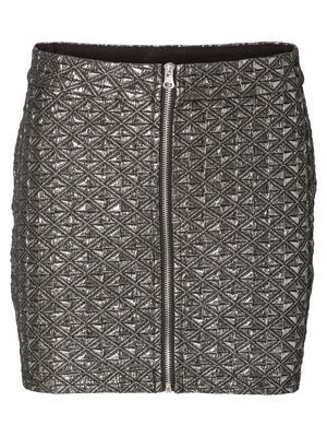 SHINNY MINI SKIRT VERO MODA Holiday Countdown contest. Pin to win the style!