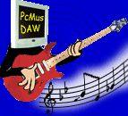 Logo for Pc-Mus Near Silent DAWs ( Digital Audio Workstations )
