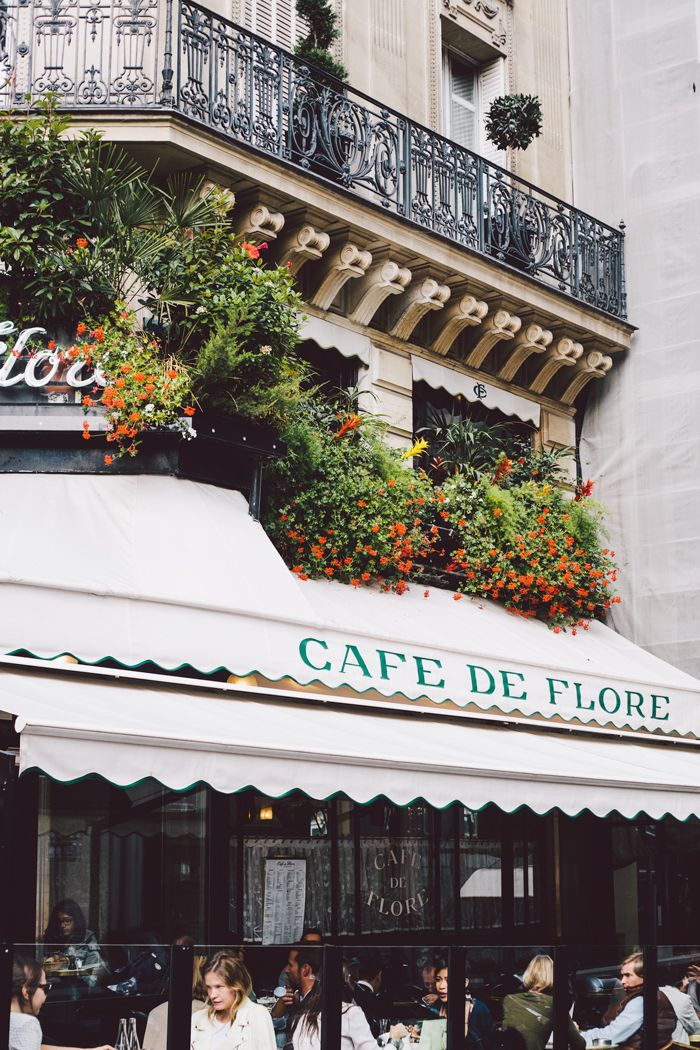 Café de Flore, 172 Boulevard Saint-Germain, Paris | Damsel in Dior