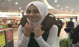 Twelve-year-old was in the Iraqi capital with family to visit her sick grandfather when a suicide car bomb exploded, killing 17 people
