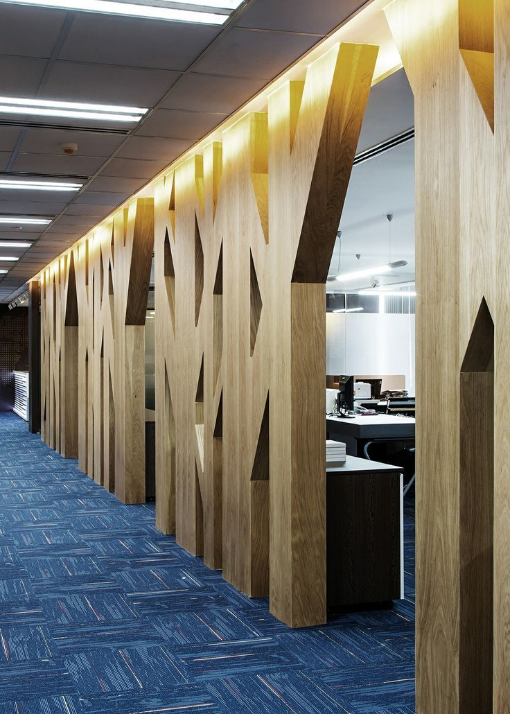 Văn Phòng Vosa Corporation / Block Architects   Handhome. Corporate Office  DesignCorporate OfficesCorporate InteriorsWall ...