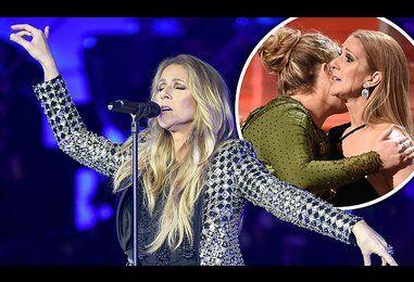 Adele pays Celine Dion 'secret visit at her London gig'