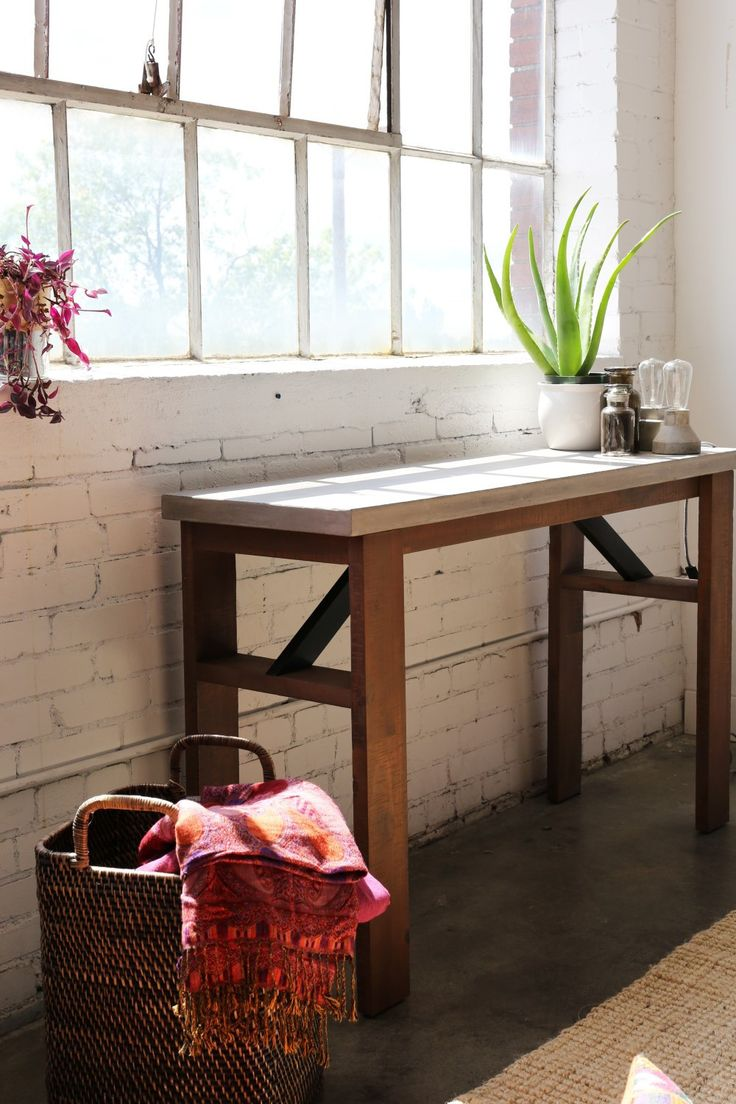 Best 25+ Rustic console tables ideas on Pinterest   Barn wood ...
