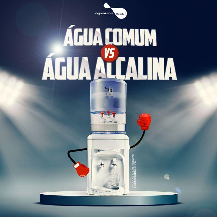 Entenda tudo sobre Água Alcalina vs Água Comum! Se você tem dúvidas sobre o tema, da um pulo no nosso blog e entenda o que diferencia, quais os benefícios para sua saúde e muito mais...  Entra lá! http://blog.acqualive.com.br/category/agua-alcalina-ionizada/